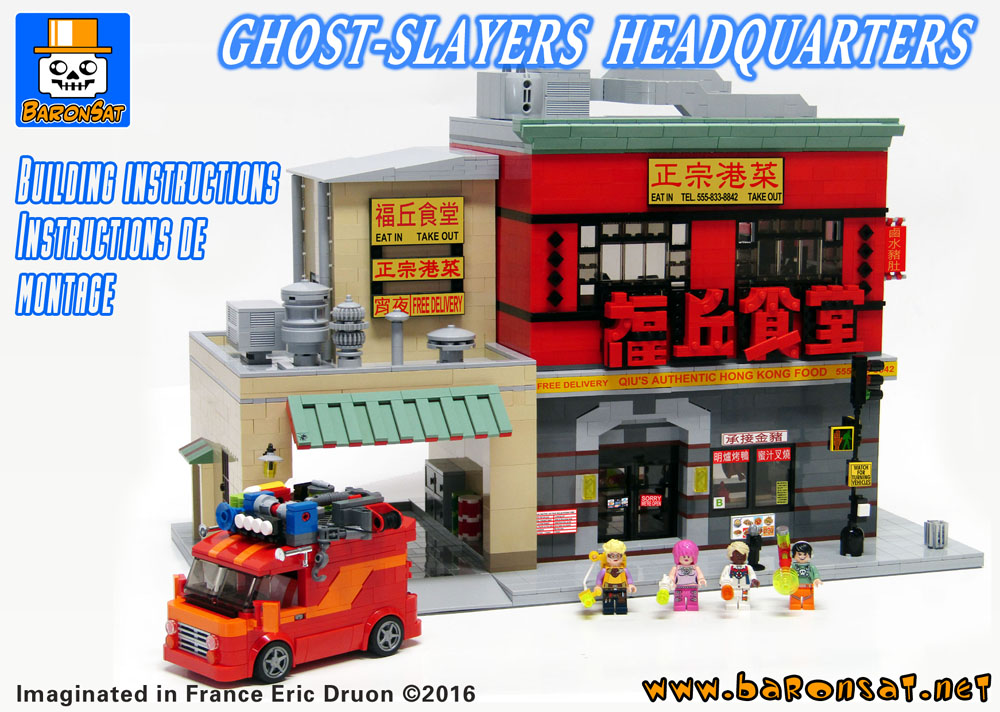 lego ghostbusters hq building instructions moc pdf