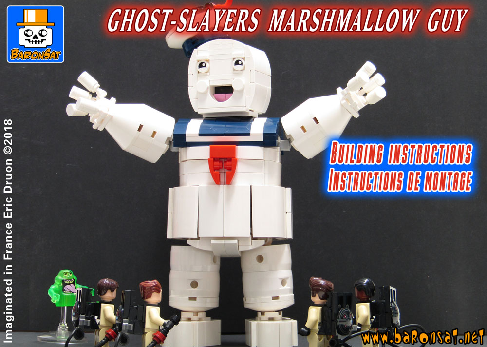 lego building instructions for Ghostbusters HQ moc custom model pdf