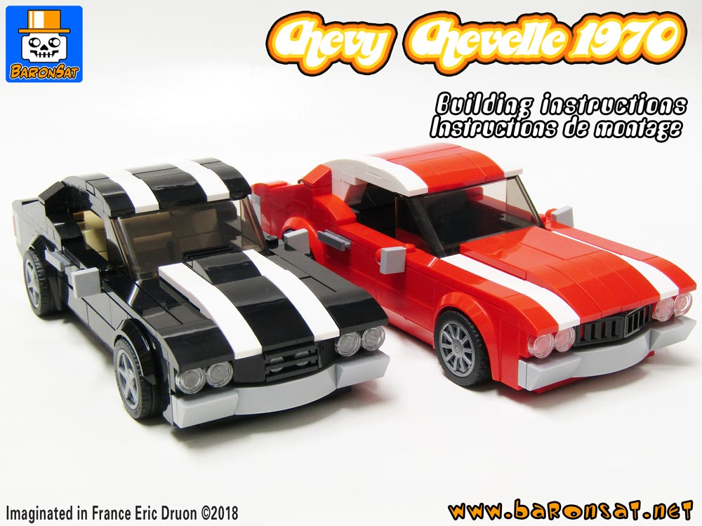 lego Chevy chevelle building instructions moc pdf