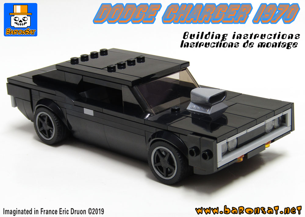 Lego Dodge Charger 1970 building instructions pdf moc