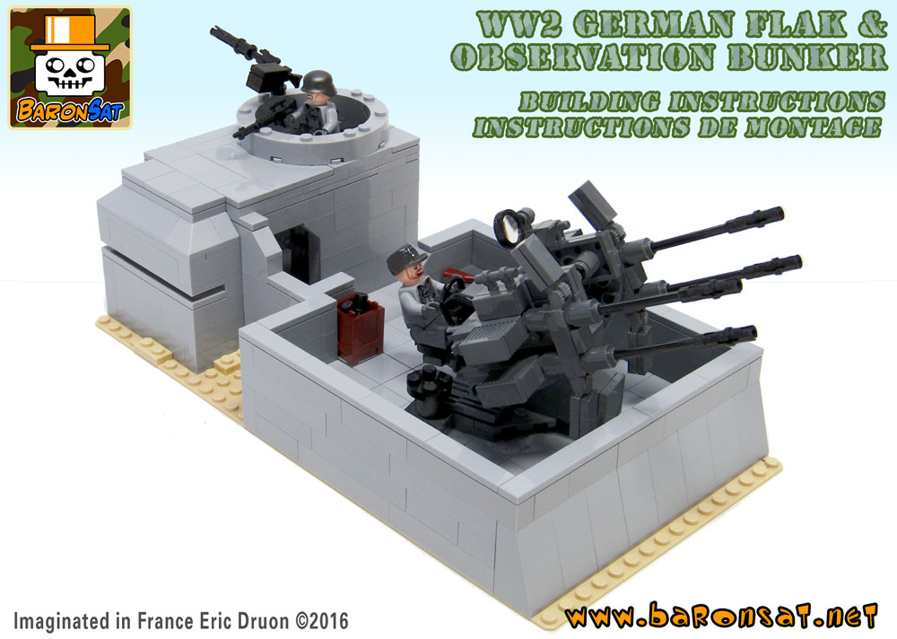Lego-German-Flak-Bunker-custom-MOC-building-instructions