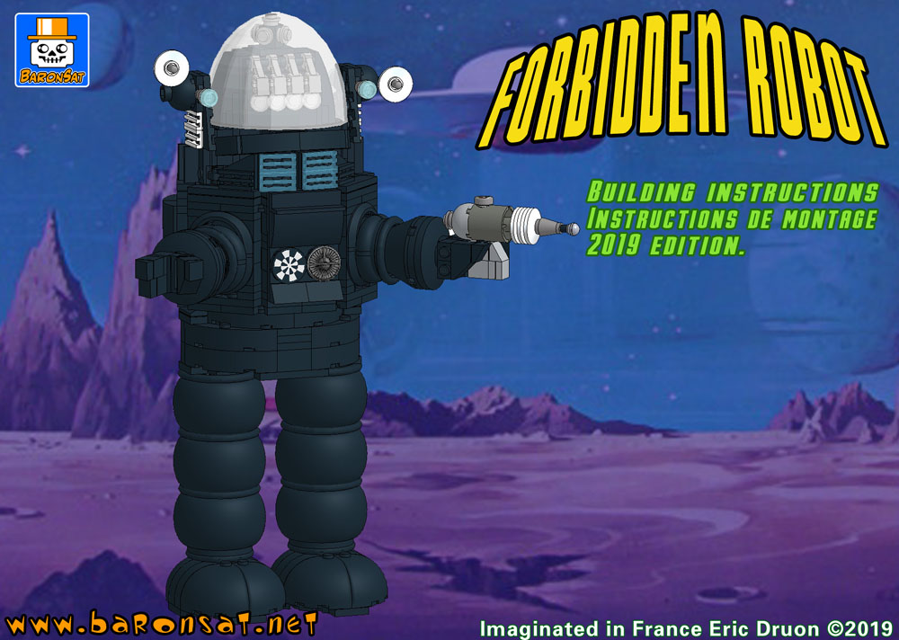 Lego Robby the robot building instructions