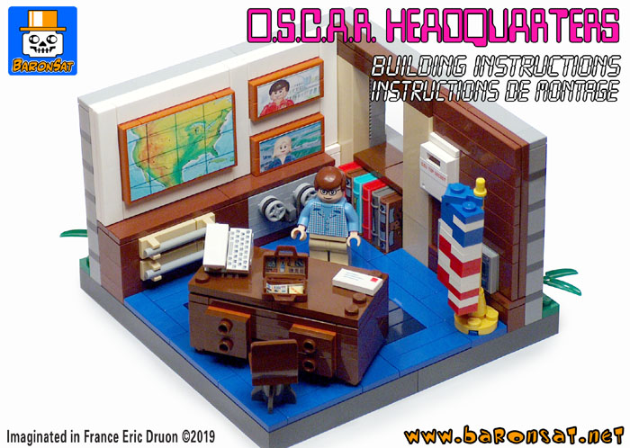 lego osi headquarters custom moc building instructions pdf