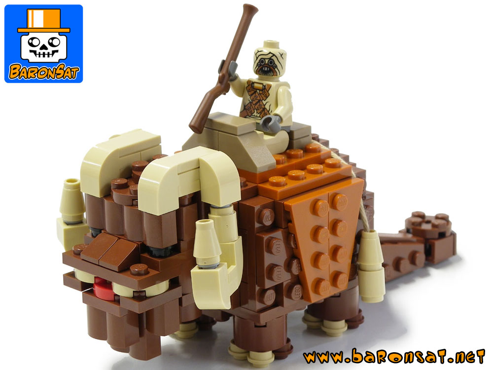 Lego moc Bantha building instructions custom model