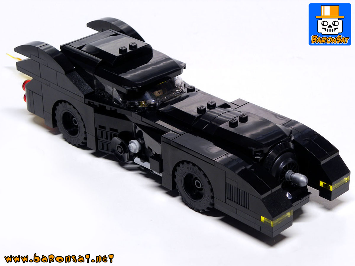 dc Lego Batmobile batman super heroes custom models bricks