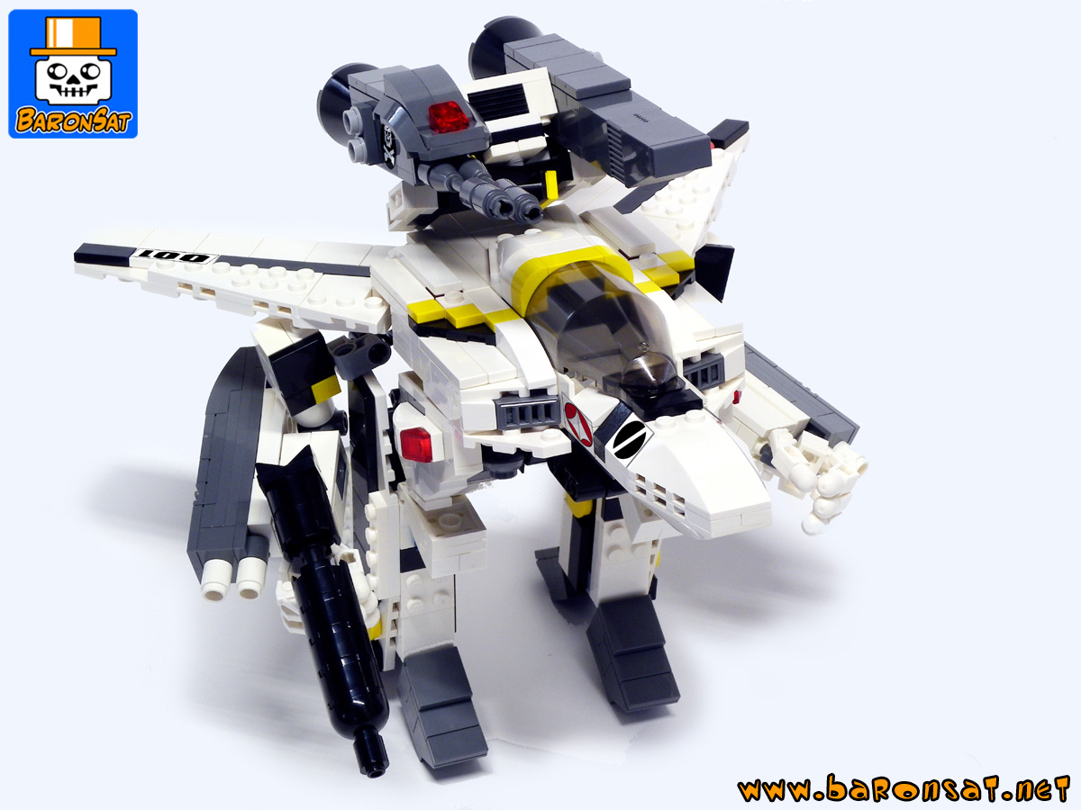 macross robotech custom moc models made of lego bricks