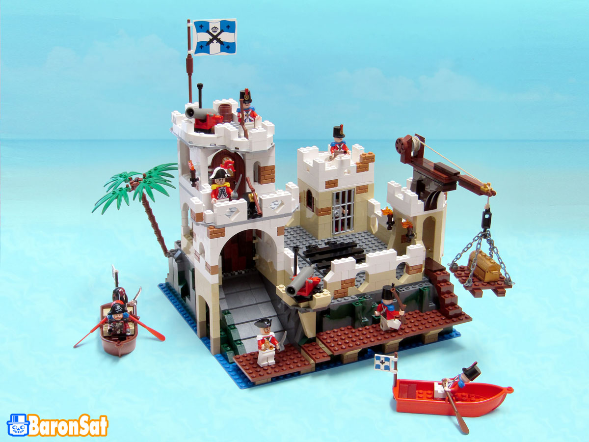 Lego moc Pirates custom models Classic