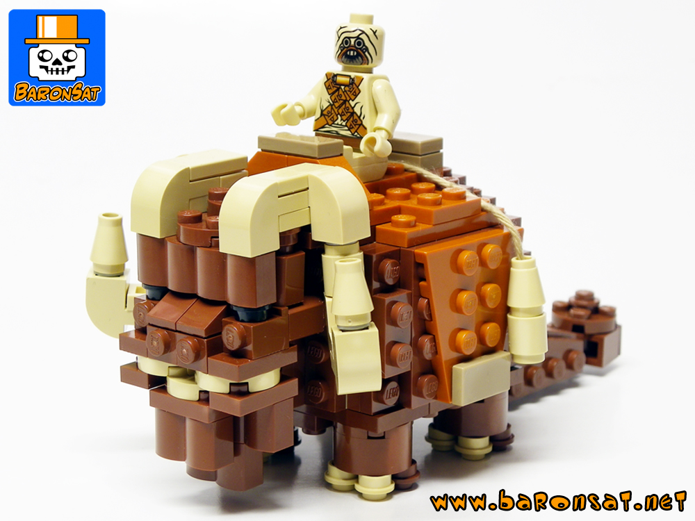 star wars Bantha moc custom models made of lego bricks