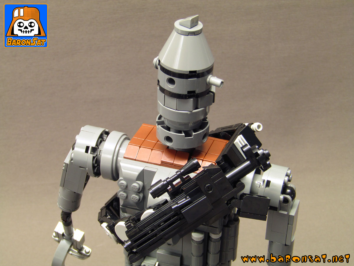 lego ig-88 custom model moc