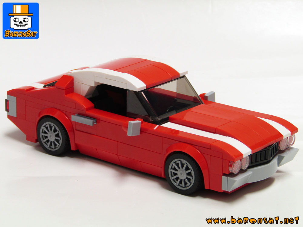 Lego moc muscle cars & vehicles custom models made of bricks